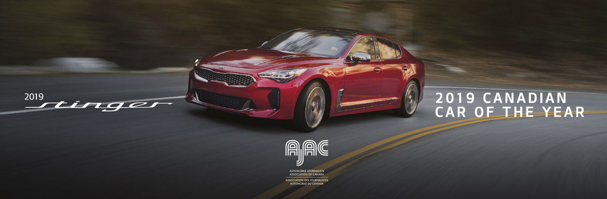 2019 Stinger at Anderson Kia
