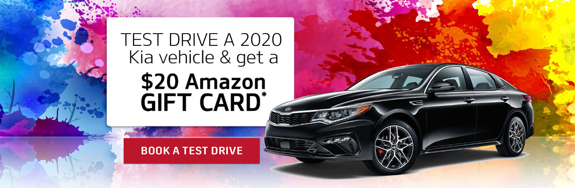 Test Drive a 2019 Kia Vehicle & Get a $20 Amazon Gift Card at Anderson Kia