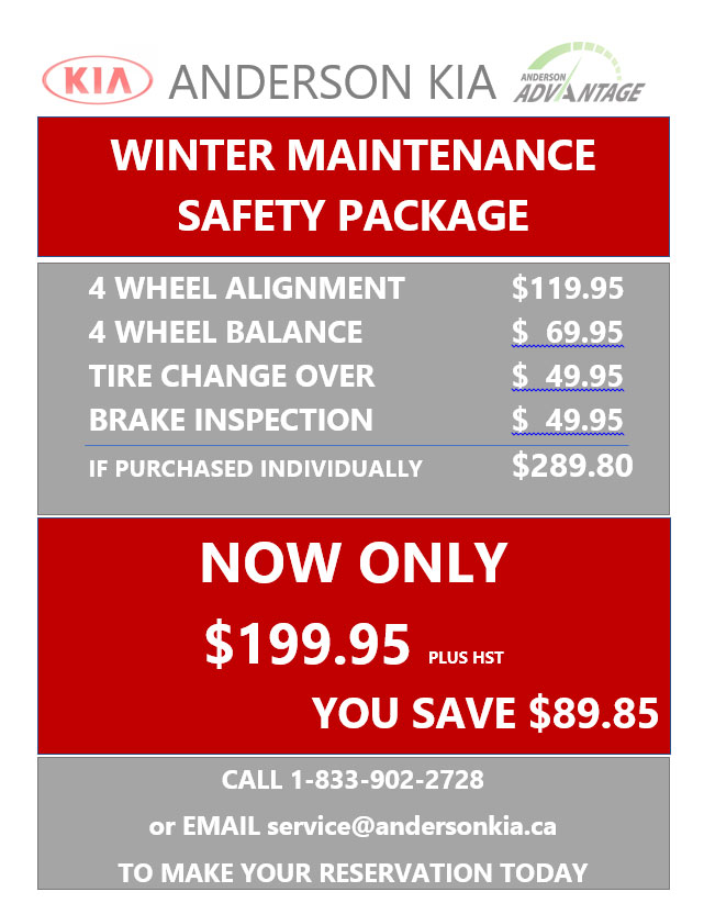 Winter Maintenance Safety Package
